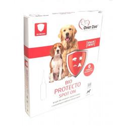 OVER ZOO BIO PROTECTO pchły kleszcze psy średnie duże 4x2,5ml
