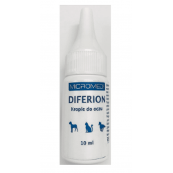 Micromed Vet Diferion krople do oczu pies/kot 10ml