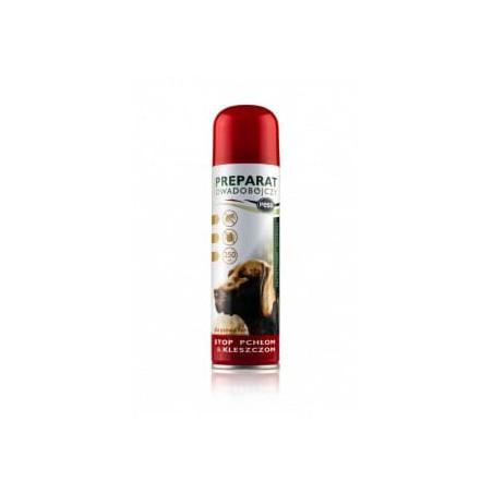 PESS Spray MUSZKA na pchły kleszcze dla psów 250ml