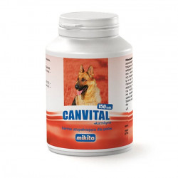 MIKITA Canvital+karnityna na kondycję psa 150tabl