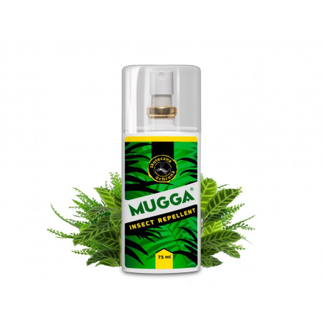 MUGGA 9,5% DEET Spray na komary i kleszcze 75ml