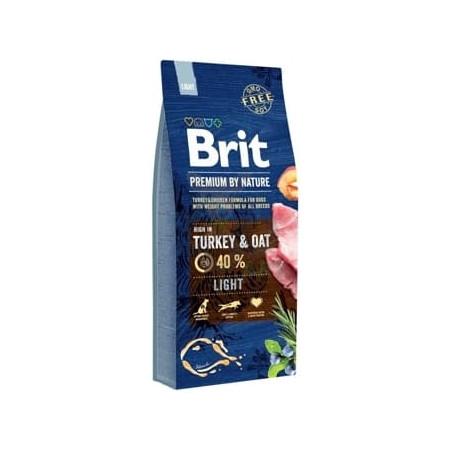 BRIT Premium By Nature Light dla psów z nadwagą 15 kg