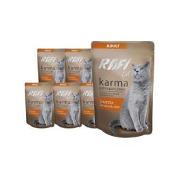 RAFI Karma Cat z kaczką 10 x 100g
