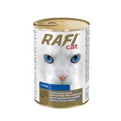 RAFI Cat z rybą 415 gram
