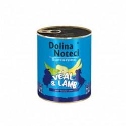 DOLINA NOTECI Superfood cielecina jagniecina 400G