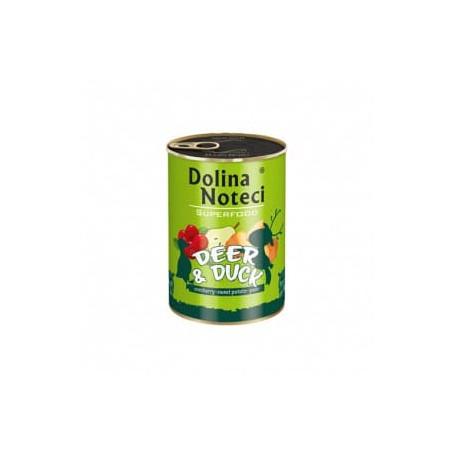 DOLINA NOTECI Superfood jeleń i kaczka 400G