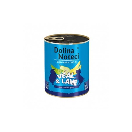 DOLINA NOTECI Superfood cielecina jagniecina 800G
