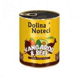 DOLINA NOTECI Superfood kangur i wołowina 800G