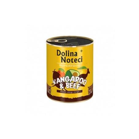 DOLINA NOTECI Superfood kangur i wołowina 800G