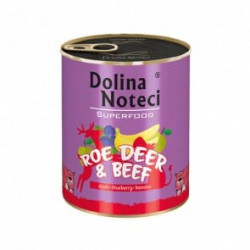 DOLINA NOTECI Superfood sarna i wołowina 800G