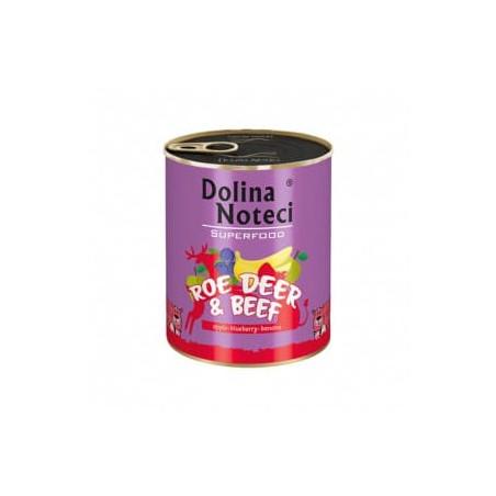 DOLINA NOTECI Superfood sarna i wołowina 800G