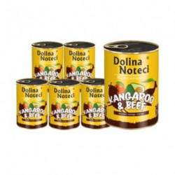 DOLINA NOTECI Superfood kangur i wołowina 6 x 400G