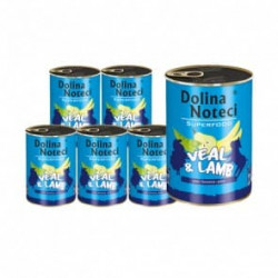 DOLINA NOTECI Superfood cielecina jagniecin 6x400G