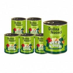 DOLINA NOTECI Superfood jeleń i kaczka 6 x 800G