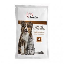 OVER ZOO Szampon w saszetce dla psów i kotów 20 ml