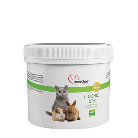 OVER ZOO Higienic Dry neutralizuje zapach 150g