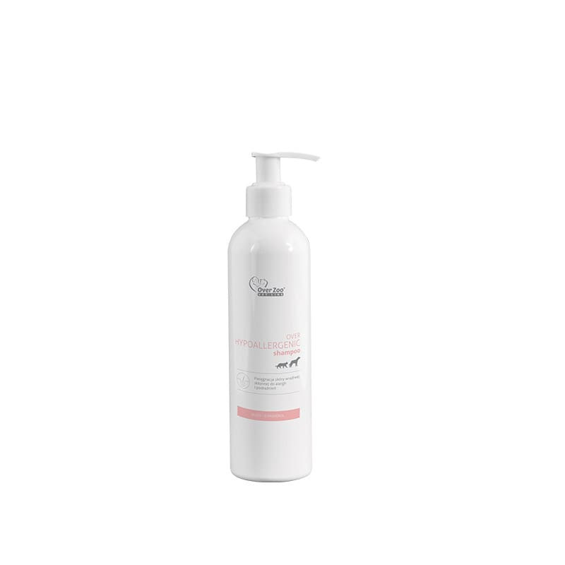 OVER ZOO Hypoallergenic Shampoo z pompką 250 ml