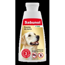 SABUNOL zwalczająca pchły emulsja do mycia 150 ml