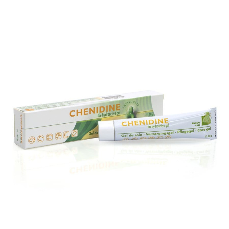 CHENIDINE 20 G żel przyspieszający gojenie ran