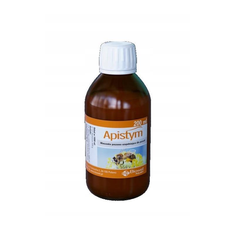 Apistym podnosi odporność pszczół 200ml nosemoza