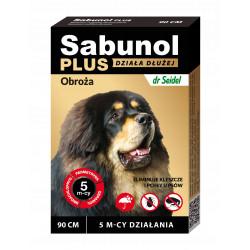 Sabunol Plus obroża p kleszczom i pchłom psa 90 cm
