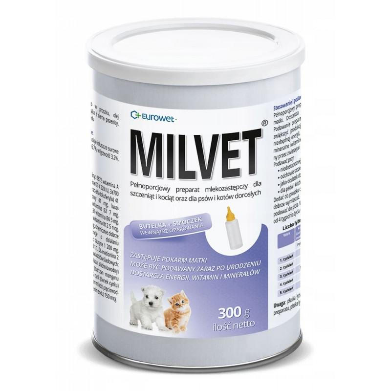 MILVET mleko dla szczeniąt i kociąt 300g