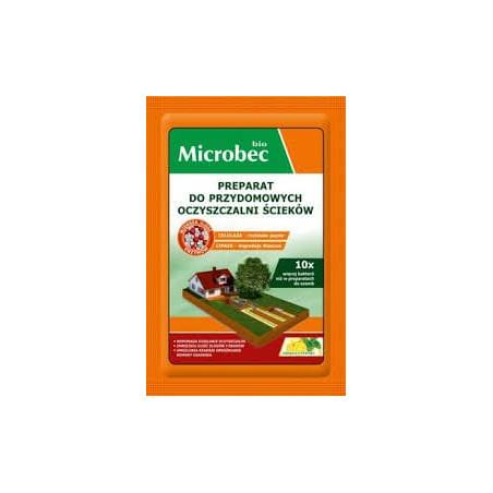 Microbec Bio saszetka - preparat do czyszczenia szamb 35g - nowa formuła