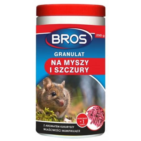 BROS Trutka na myszy i szczury 250g granulat