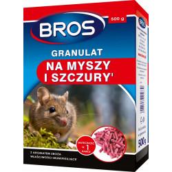 BROS Trutka na myszy i szczury 500g granulat