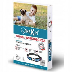 Frexin obroża insektobójcza dla psa 45cm+GRATISY