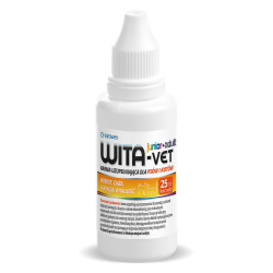 EUROWET Wita-Vet JUNIOR+ADULT krople 25 ml