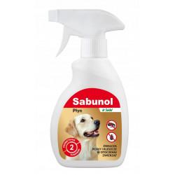 SABUNOL spray przeciw pchłom i kleszczom 250ml