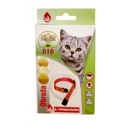 PCHEŁKA BIO obroża na pchły kleszcze dla kota