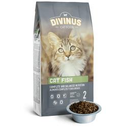 DIVINUS CAT FISH Karma dla kotów dorosłych 2kg