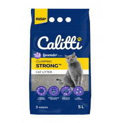 Calitti STRONG Lavender Żwirek bentonitowy 5 L