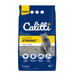 Calitti STRONG Unscented Żwirek bentonitowy 5 L