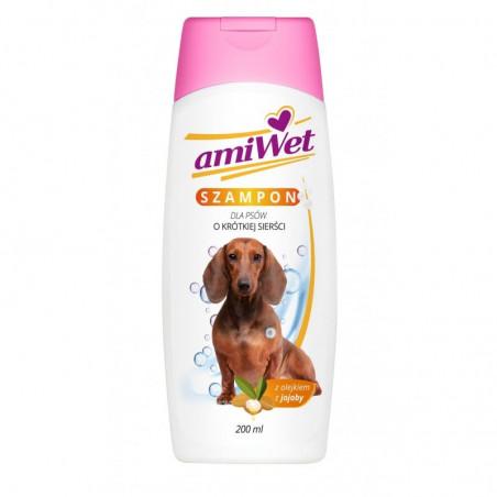 AMIWET szampon dla psów o krótkiej sierści 200 ml