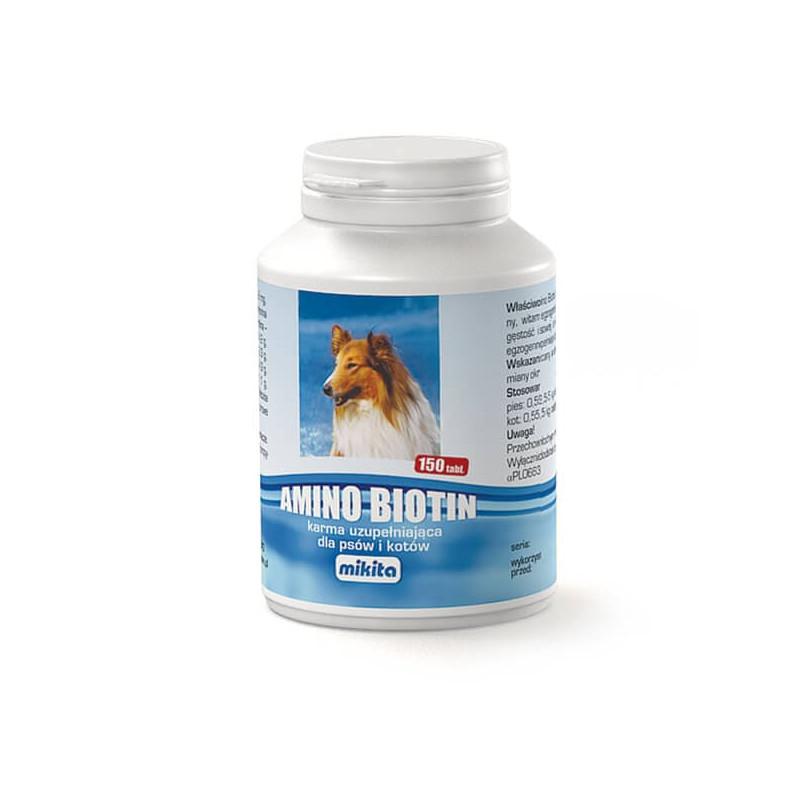 MIKITA Amino Biotin 150 tabletek