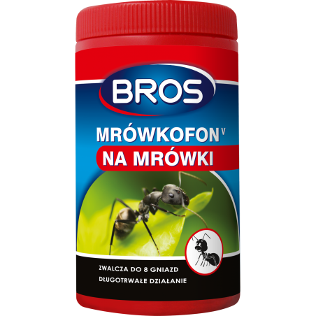 BROS Mrówkofon preparat na mrówki 60g +20% GRATIS