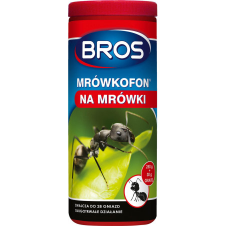 BROS Mrówkofon preparat na mrówki 250g +30g GRATIS