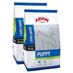 ARION PUPPY LARGE BREED CHICKEN 2X12kg + GRATISY