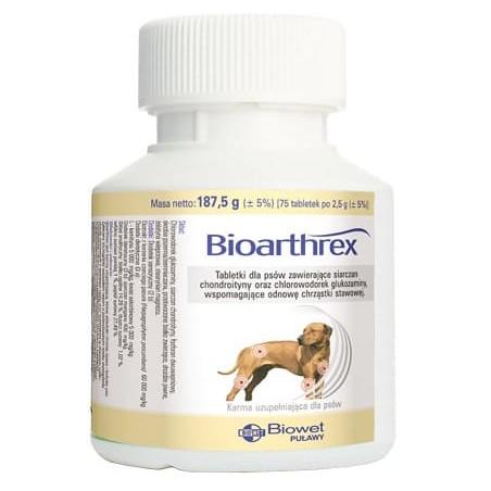 BIOARTHREX - chondroityna, glukozamina 75 tabletek