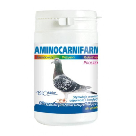 BIOFAKTOR Aminocarnifarm dla gołębi 200 g
