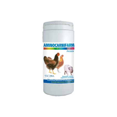 BIOFAKTOR Aminocarnifarm drób/trzoda chlewna/przeżuwacze 1 kg