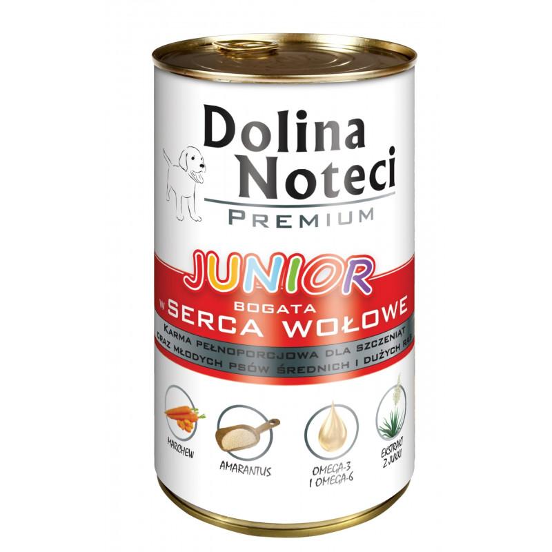DOLINA NOTECI JUNIOR serca wołowe 400 g