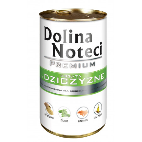 DOLINA NOTECI Premium /dziczyzna 400 g