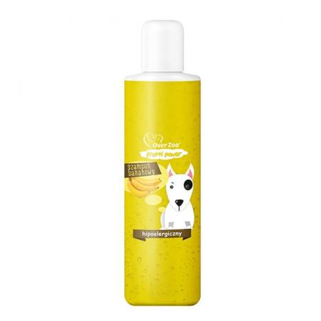 OVER ZOO Frutti Power - szampon BANAN 200 ml