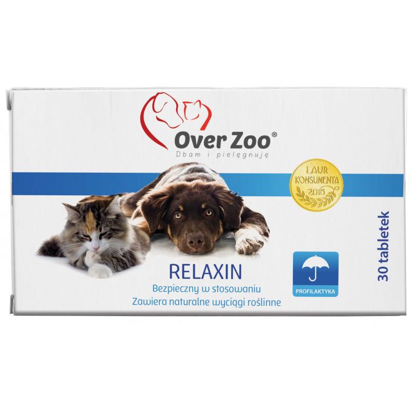 OVER ZOO Relaxin - preparat uspokajający 30 tabletek
