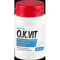 EUROWET O.K. WIT - dla gołębi 50 tabletek