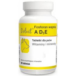DOLFOS Dolvit Fosforan wapnia AD3E - dla psa 90 tabletek